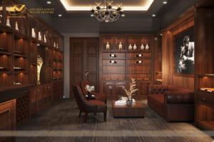 Thiết kế nội thất showroom Cigar Hà Giang 4
