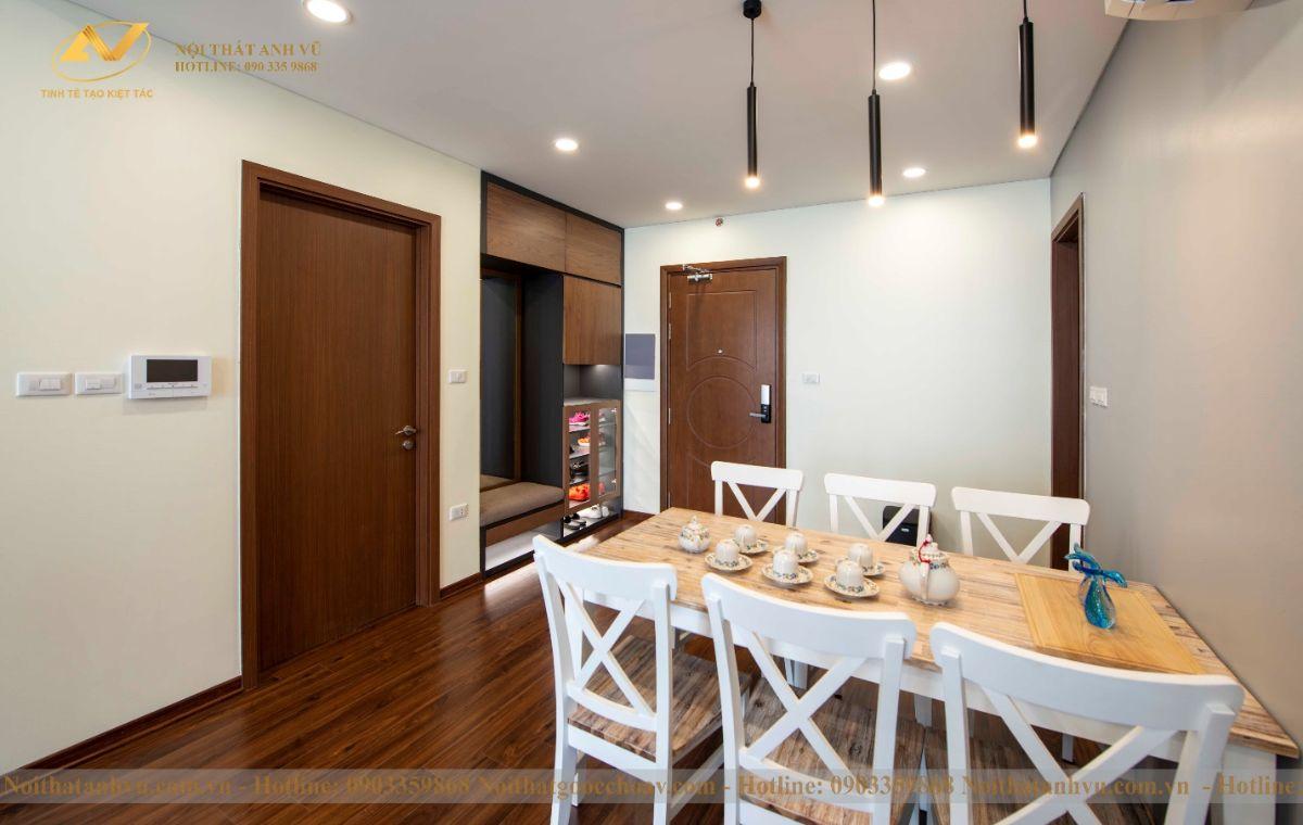 Hoàn thiện nội thất chung cư ngoại giao đoàn 83m2 anh Ngọc-3