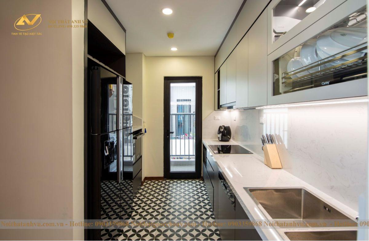 Hoàn thiện nội thất chung cư ngoại giao đoàn 83m2 anh Ngọc-4
