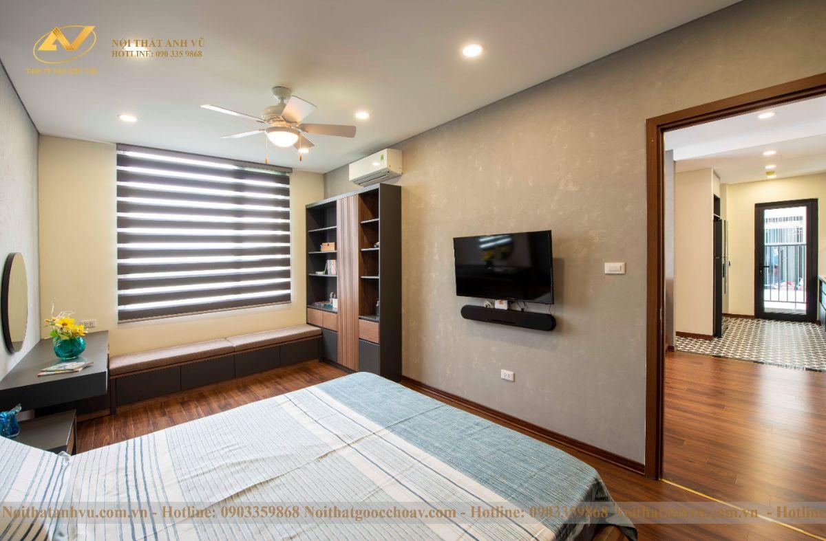 Hoàn thiện nội thất chung cư ngoại giao đoàn 83m2 anh Ngọc-6