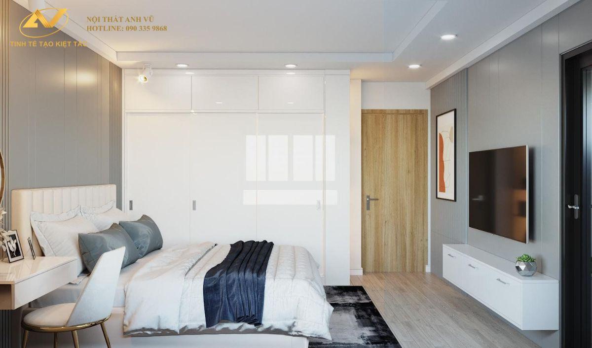 thiết kế nội thất chung cư cao cấp Anh Minh Liễu Giai 9