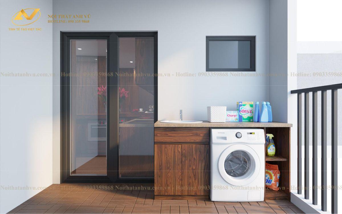 thiết kế nội thất chung cư cao cấp Anh Phước The Zen - Gamuda land 4