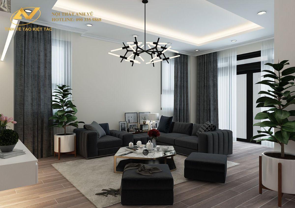Thiết kế nội thất nhà lô hiện đại 9