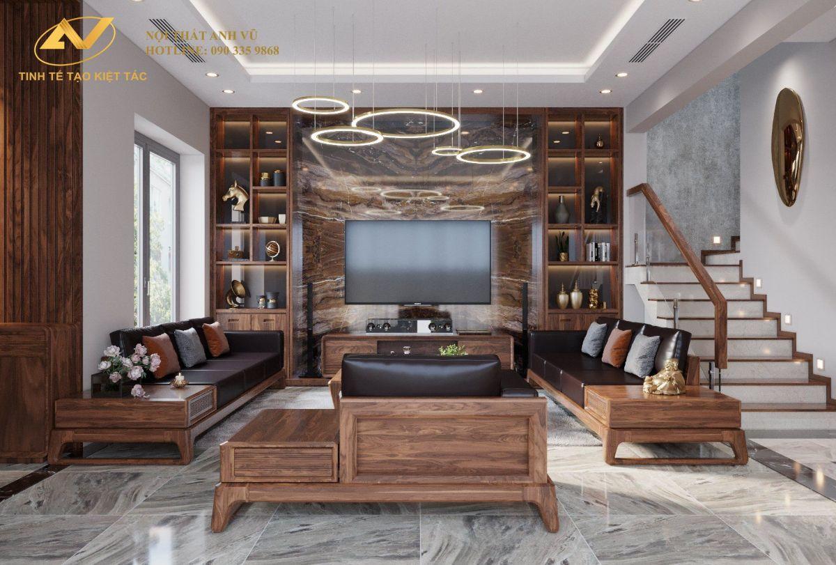 Thiết kế nội thất nhà lô hiện đại 10