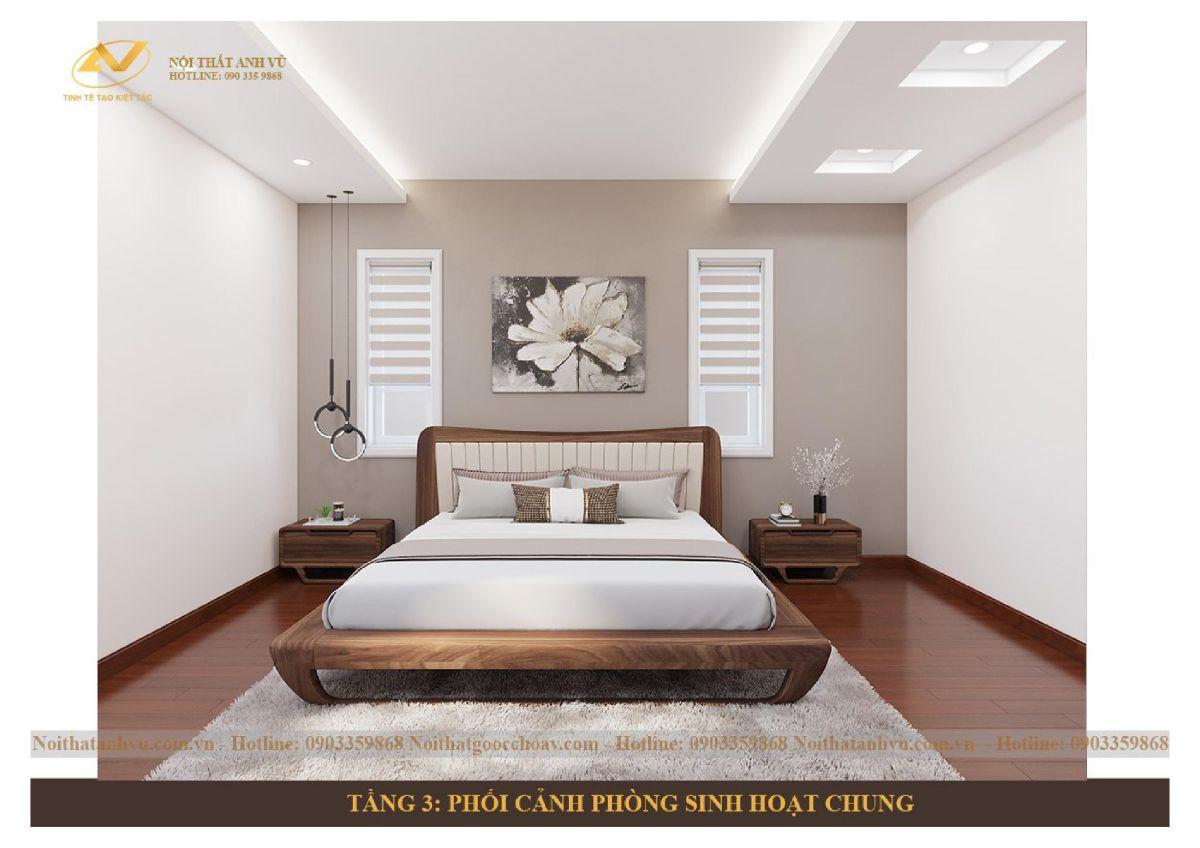 Thiết kế nội thất nhà lô tân cổ điển 7