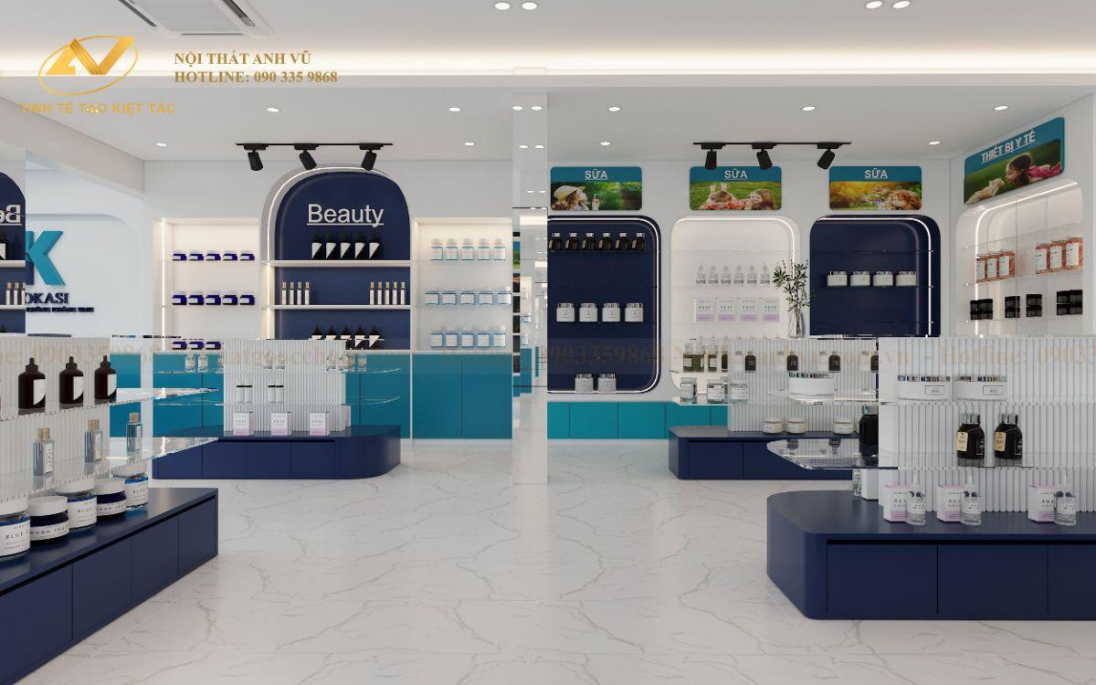 Thiết kế nội thất văn phòng Showroom KOKASI Linh Đàm-3