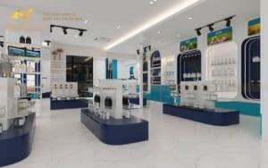 Thiết kế nội thất văn phòng Showroom KOKASI Linh Đàm-4