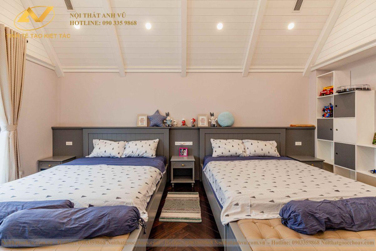 Thiết kế nội thất phòng ngủ các con 3
