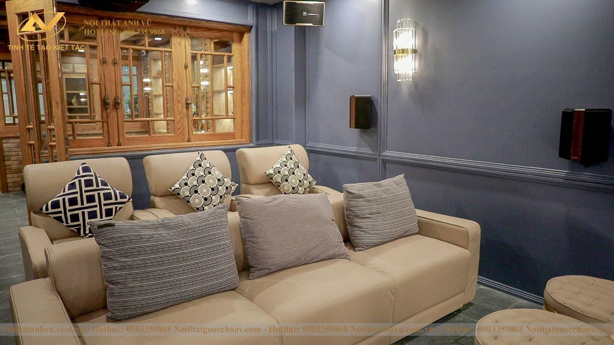 Thiết kế nội thất phòng giải trí 2
